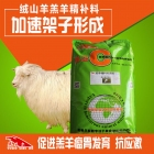 绒山羊羔羊精补料 长骨架饲料 羊羔颗粒饲料 长架子促生长促进骨骼发育