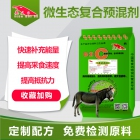 0.2%抗感染免疫型微生态-驴抗感染微生态 长得快饲料 代替抗生素饲料 驴饲料添加剂